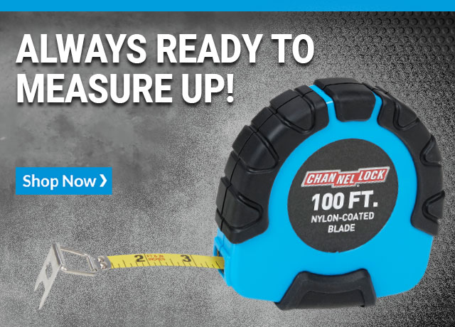 Always ready to measure up! Shop Now
