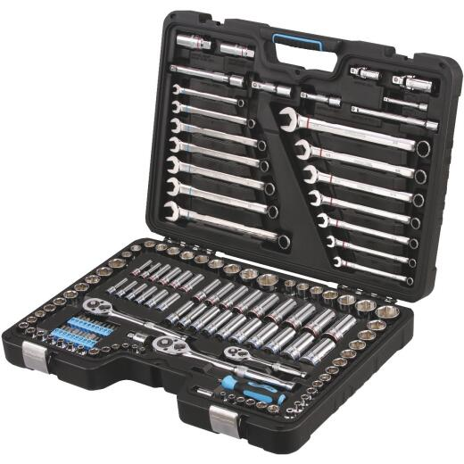 Channellock Standard and Metric 6-Point Combination Socket Set (139-Piece)