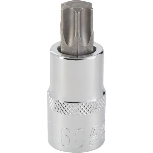 Channellock 1/2 In. Drive T60 6-Point Torx Bit Socket
